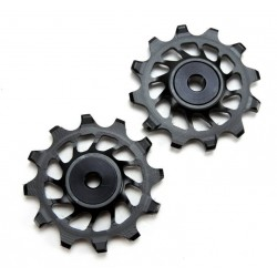 AbsolutBlack - 12T pulleys synchronized SRAM XX1 , X01 , X1 black 20g