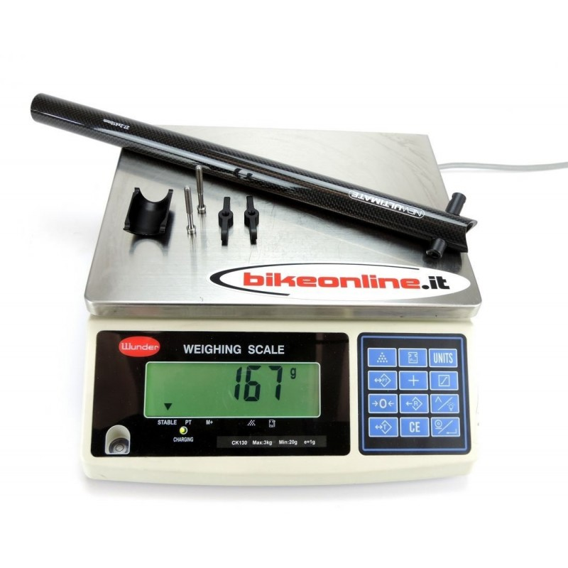 NewUltimate - Reggisella Carbon 27.2x410mm 167g