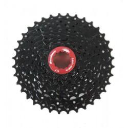 SUNRACE - Pacco pignoni CSRX1 EAW steel/ergal 11-36T 11v Black 351g