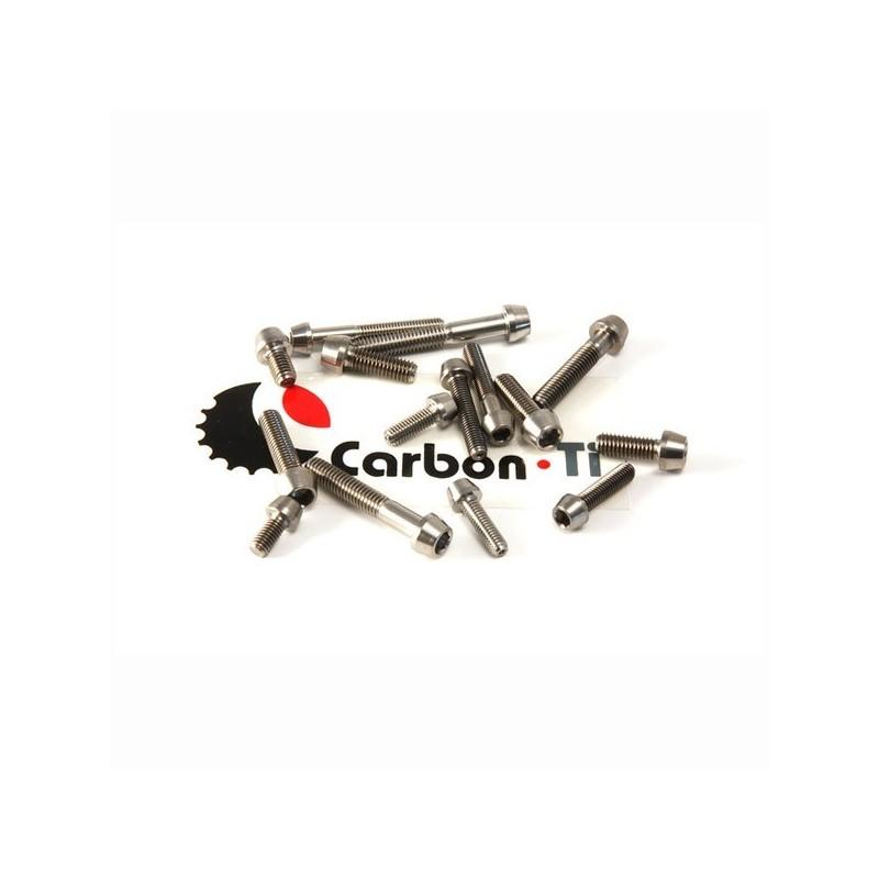 Carbon Ti - Titanium bolt M5 x 30 2.9g
